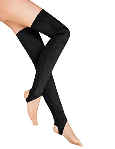 Wolford Women's Over the Knee Stirrups, Black, 40 by Wolford (Image #2)