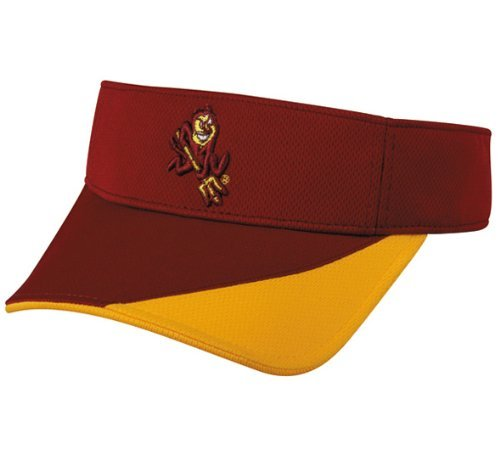 ASU - Arizona State Sun Devils VISOR Official NCAA Collegiate Replica Cap ()