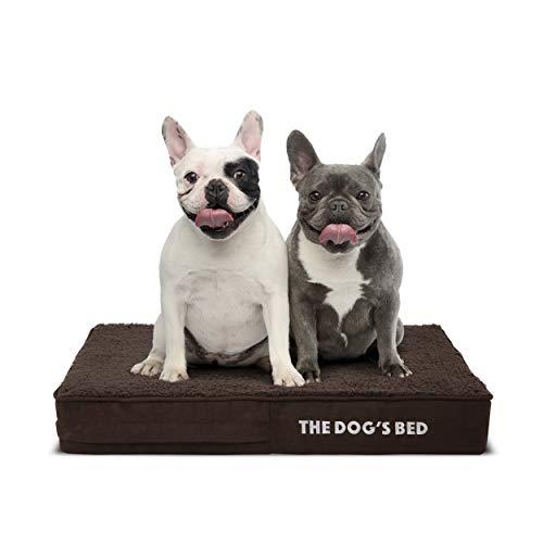 The Dog's Bed Orthopedic Dog Bed Large Grey/Blue...