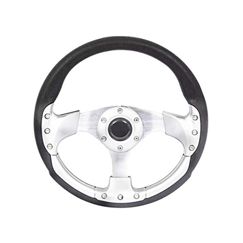 14 350mm Aluminum Sport Race Racing Steering Wheel With Horn Button