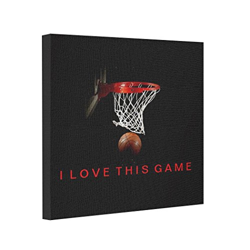 BUCKIE IY Canvas Picture Frames Basketball I Love This Game Canvas Pics