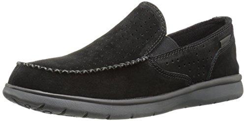Merrell Mens Lata Perf Moc Mode Sneaker Svart