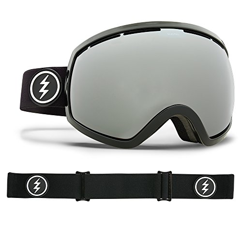 Electric Visual EG2 Gloss Black/Brose Silver Chrome Snow Goggle by Electric