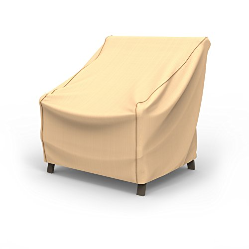 Rust-Oleum NeverWet Patio Chair Cover, Medium (Tan) by EmpireCovers (Image #5)