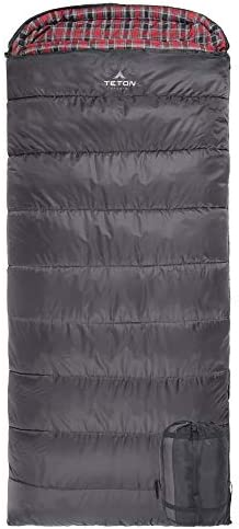 TETON Sports Celsius XL Sleeping Bag Great for Family Camping Free Compression Sack