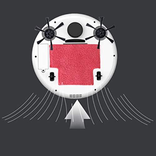 JKYQ Robot ménager Balayage Rechargeable Machine de Nettoyage Automatique Lazy aspirateur Intelligent Appareil de dépoussiérage du Sol Intelligent Balayage Machine Glisser Gray
