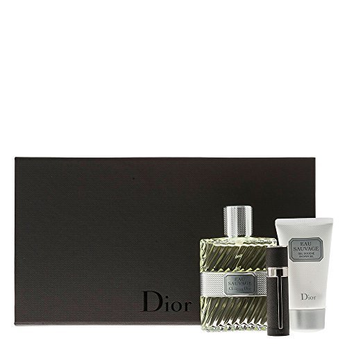 Christian Dior Eau Sauvage Men 3 Piece Limited Edition Set by Dior