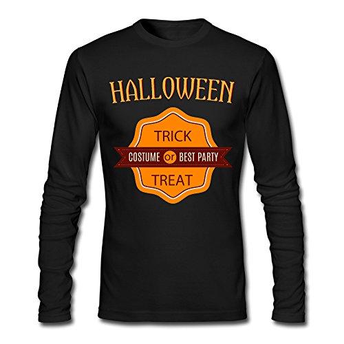 LDMH Men's Happy Halloween Long Sleeve - Toffee Marta