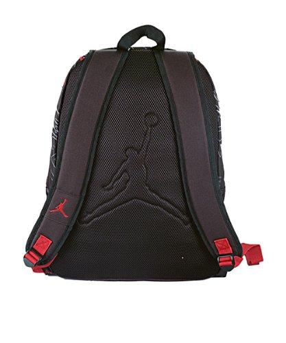 00b6c333d193de Jordan Boys Black   Red Print Backpack (Print)