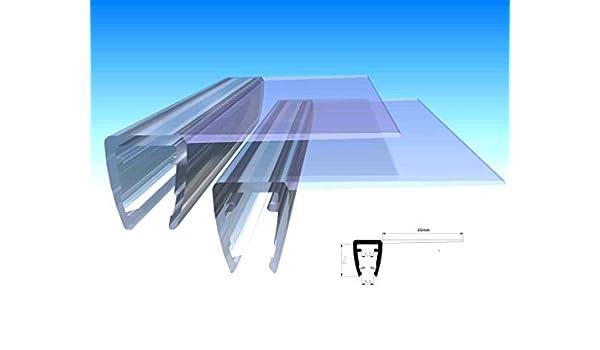 80 cm UK01 ---Recambio de junta para 3,5 mm/4 mm/5 mm grosor deflector de agua para ducha UPS mampara de protección contra sobretensiones: Amazon.es: Bricolaje y herramientas