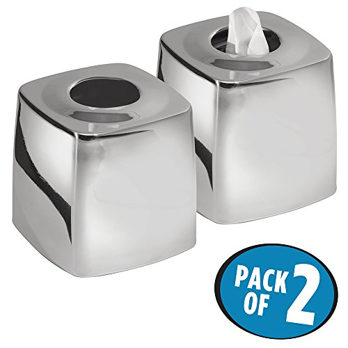 stainless steel kleenex box - 6