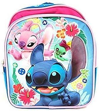 Disney Lilo & Stitch - Mochila para niños de 10 pulgadas: Amazon.es: Ropa y accesorios