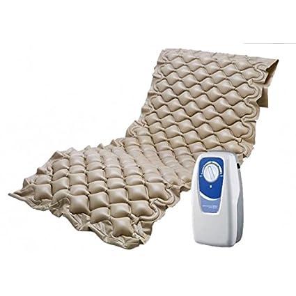 Medical Sunrise Colchón neumático Anti-escaras con regulador de presión. Válido hasta 110 Kg. de Peso.: Amazon.es: Hogar