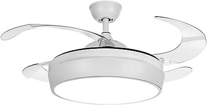 TODOLAMPARA - Ventilador de techo con luz LED modelo SIMUN color ...