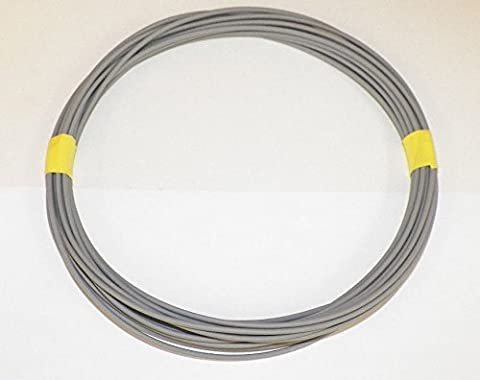 18 Ga Gray Automotive/General Purpose GXL Wire .94 O.D. 25' Superior Abrasion Resistance, High Heat, Resist grease,Oil, - Purpose Marine Grease