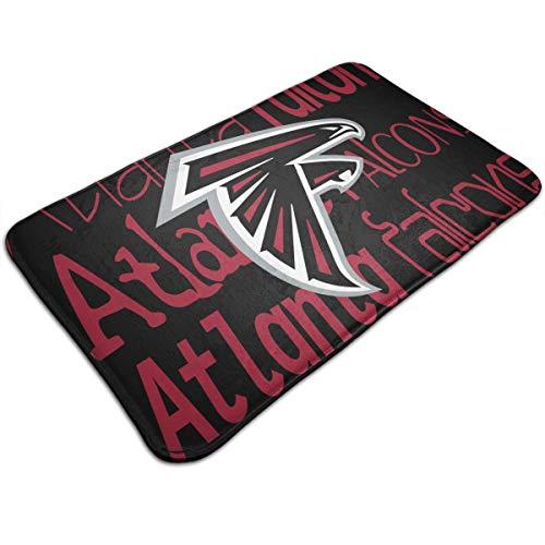 Atlanta Falcons Door Mat - Weckim Atlanta Falcons Non-Skid Lock Water Quick-Drying Door Mat Floor Mat, Fadeless, 19.68