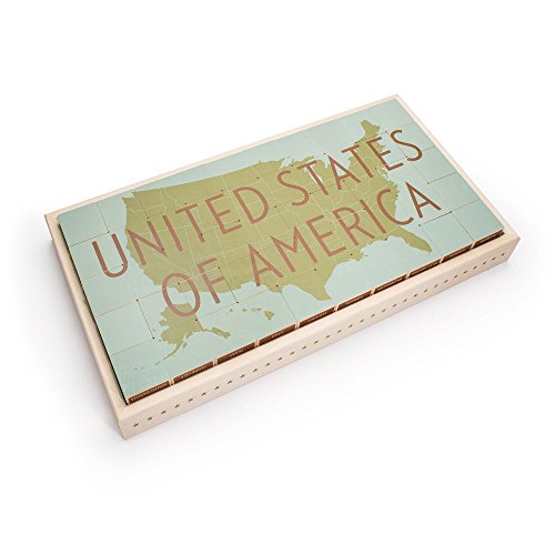 Uncle Goose United States Blocks - Made in USA by Uncle Goose