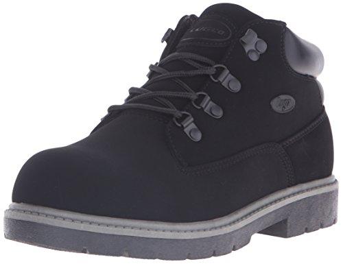 Lugz Men's Cargo Fashion Sneaker, Black Buck, 9.5 D