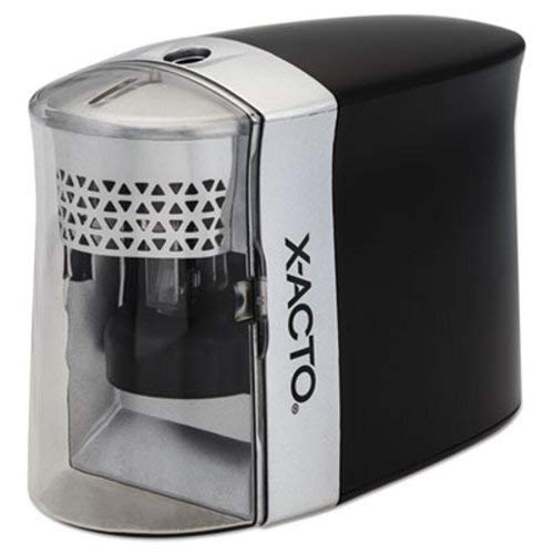1780 X-Acto Inspire Battery Powered Electric Pencil Sharpener - Desktop - Black