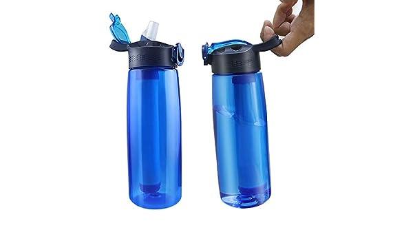 NANE Botella de Agua con Filtro Integrado 650 ml. Elimina ...
