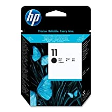 HP No. 11 Black Printhead/Cleaner - Inkjet - 16000 Page - Black - 1 (Catalog ...