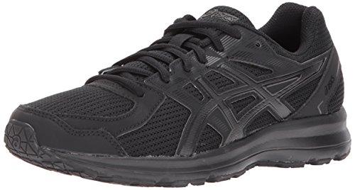 Black Womens Sneakers - ASICS Women's T7K8N.9099 Jolt Running Shoes, Black/Onyx, 8.5