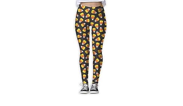 Amazon.com: XXBOTEX Womens Halloween Candy Corn Yoga ...