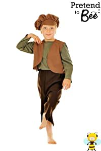 Boys Victorian Historical Street Urchin or Oliver Twist Costume 7-9 Years (disfraz)