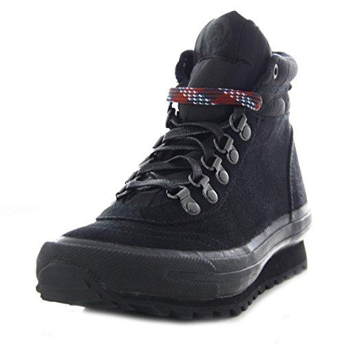 DIESEL baskets trekking en cuir femme TREK noir - 36,37,38,39,40,41