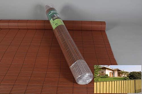 thesecrethome.es Valla OCULTACION Exterior PVC 1000 GRXM2 MARRÓN 1,5X3 M. Ideal para JARDÍN O TERRAZA: Amazon.es: Hogar