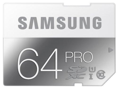 Samsung Pro MB SG64D   Flash memory card   64  GB   UHS Class 1 / Class10   SDXC UHS I
