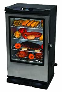 Masterbuilt 20070312 30-Inch Front Controller Electric Smoker with Window and RF Controller