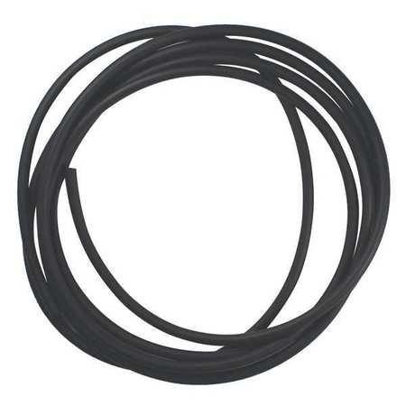 Rubber Cord, Neoprene, 1/4 In Dia, 10 Ft