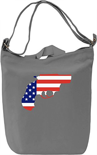 American dream Borsa Giornaliera Canvas Canvas Day Bag| 100% Premium Cotton Canvas| DTG Printing|