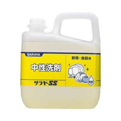 サラヤ 食器用中性洗剤 サラヤSS 5kg 31514