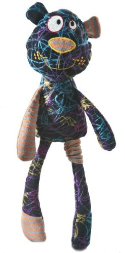 Bear Silly Squiggles Rag Doll by Ganz from Ganz