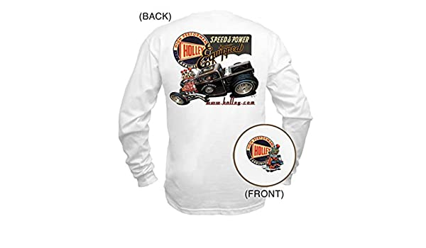 Holley 10016-XXLHOL White XX-Large Fine Art You Can Wear T-Shirt