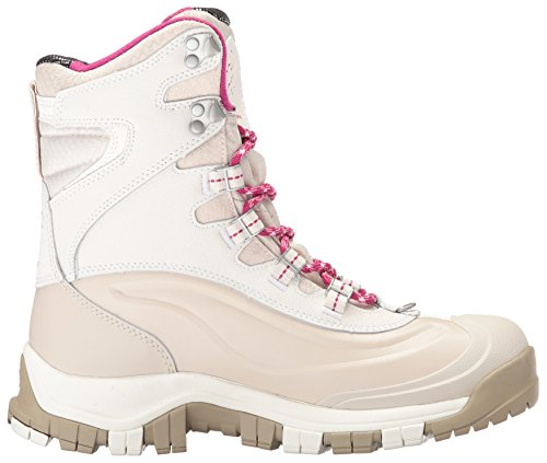 Columbia Women's Bugaboot Plus Omni-Heat Michelin Snow Boot, Sea Salt, Deep Blush, 9 B US by Columbia (Image #7)