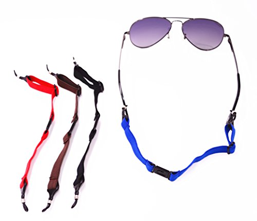 douper Unisex Elastic Band Non-Slip Eyeglass Strap for Adult Adjustable Length Range 9