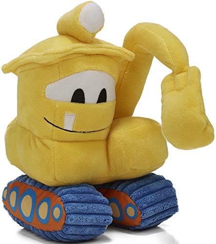Kids Preferred Goodnight, Goodnight, Construction Site Sound & Light Excavator Plush, - Stuffed Kids Preferred Plush