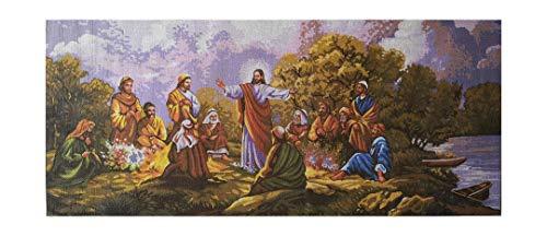 (Hudemas Needlepoint Kit The Garden of Gethsemane 29x13in 73x32cm Printed Canvas 174)