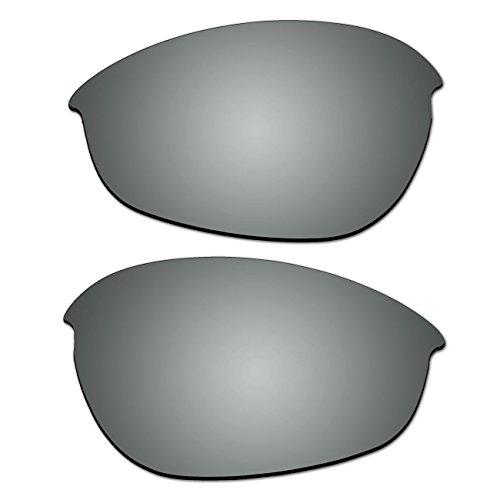Replacement Titanium Polarized Lenses for Oakley Half Jacket 1.0 Sunglasses (Not Fit XLJ and - 1.0 Oakley Jacket Half Lenses