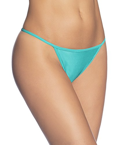 e Women's Sexy Adjustable Thong (L, Emerald) ()