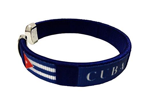 Flag C Bracelets Wristbands - Americas (Country: Cuba)