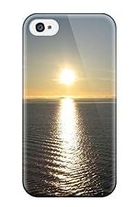 [IlZpcac8154QVIAZ]premium Phone Case For Iphone 4/4s/ Shining Sun Beautiful Ocean Vast Area Nature Other Tpu Case Cover