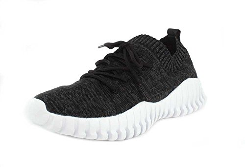 Lace Gravity Sneakers up Mev Women's Black Bernie tqECwnz1