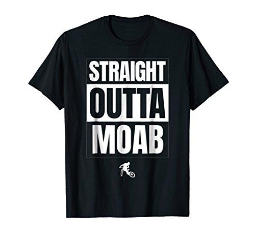 MTB Mountain Biking Moab T-Shirt. 4WD Trails Tee BMX Jersey ()