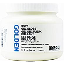 Golden Acryl Med 32 Oz Soft Gel Gloss