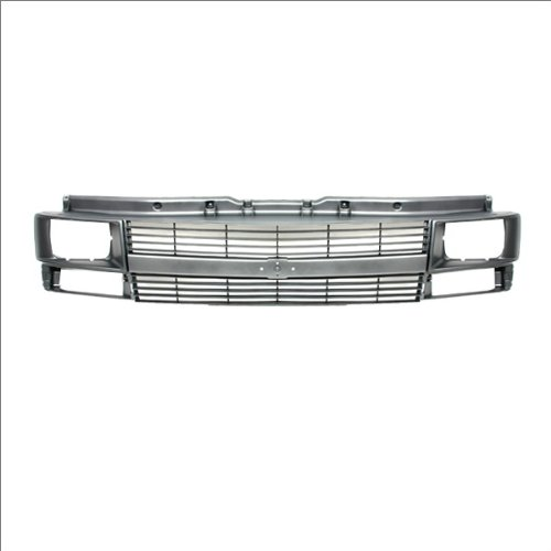 CarPartsDepot Truck Grill Grille Assembly Front Silver Gm1200372 88968936