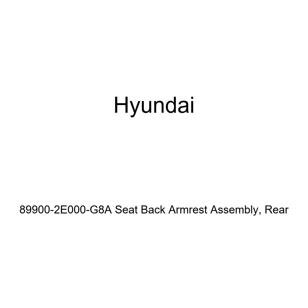 Rear Genuine Hyundai 89900-2E000-G8A Seat Back Armrest Assembly